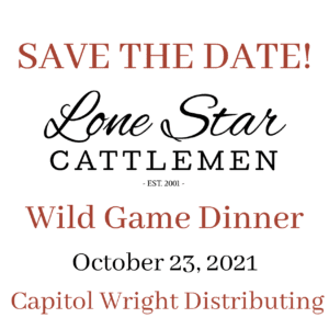 Wild Game Dinner | Save the Date!